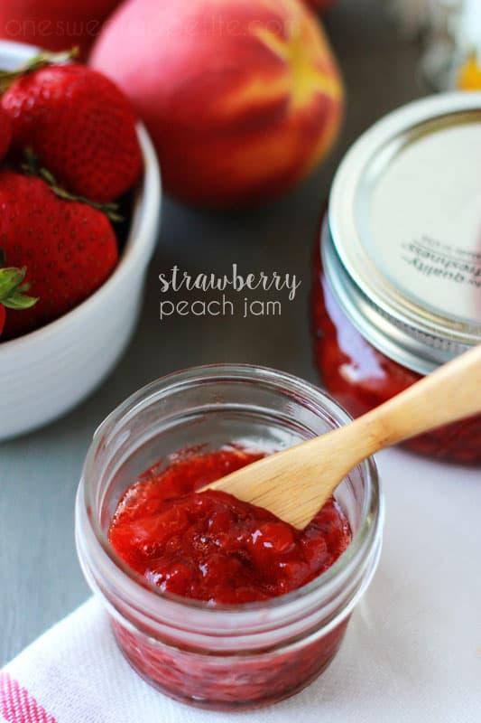 Strawberry Peach Jam