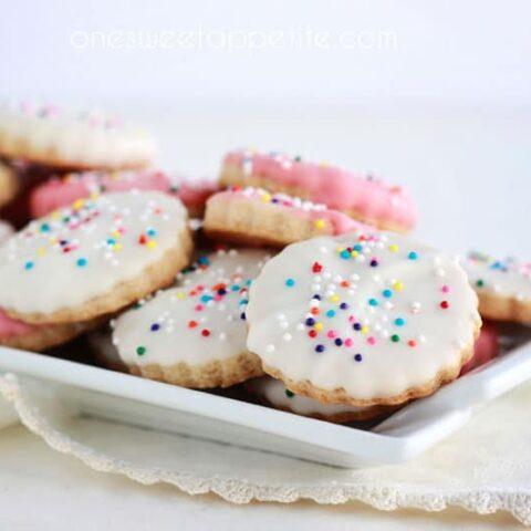 Copycat Circus Cookies
