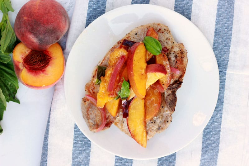 Peach Pork Chops recipe