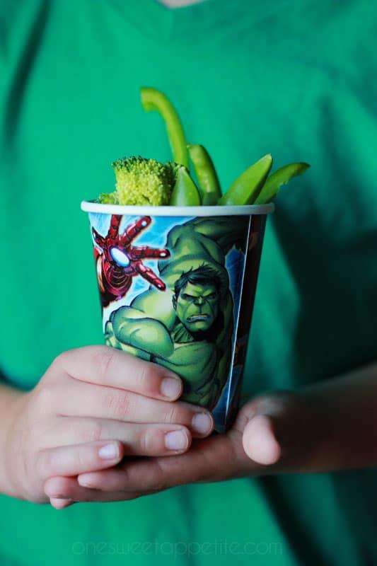 MARVEL Hulk party food