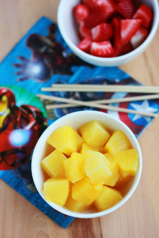 MARVEL Iron Man snack