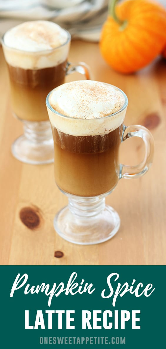 Pumpkin Spice Latte. Play barista at home and whip up this classic fall drink! All you need is milk, pumpkin puree, sugar, vanilla extract, pumpkin pie spice, and espresso.