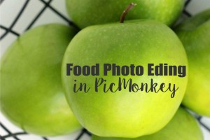 Food Photo Editing in PicMonkey