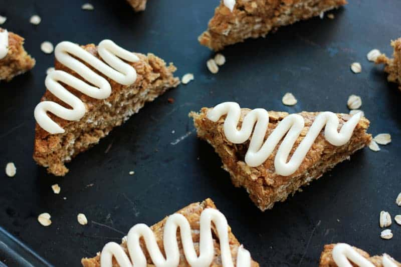 Cinnamon Brown Sugar Oatmeal Bars
