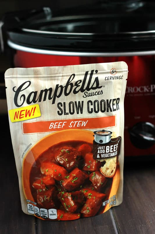 beef stew with campbell's