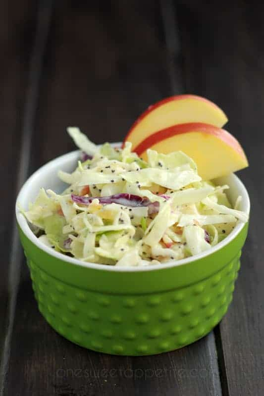 apple-coleslaw-on-One-Sweet-Appetite