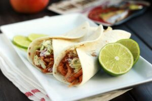 Easy Pulled Pork Tacos with Campbell's