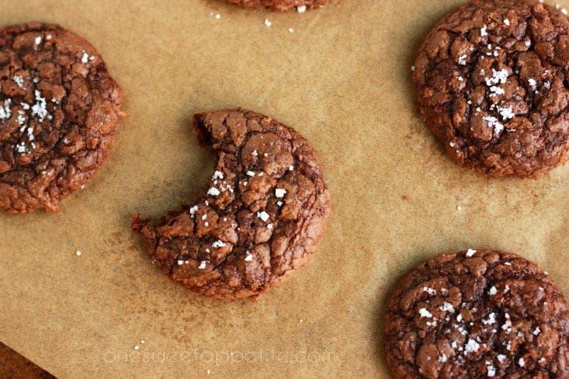 salted-brownie-cookies-on-One-Sweet-Appetite