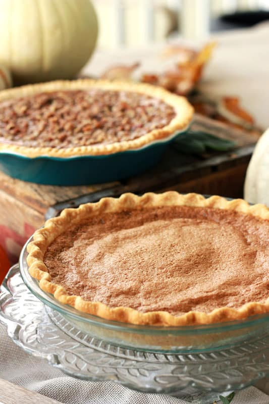 Gingerbread Chess Pie