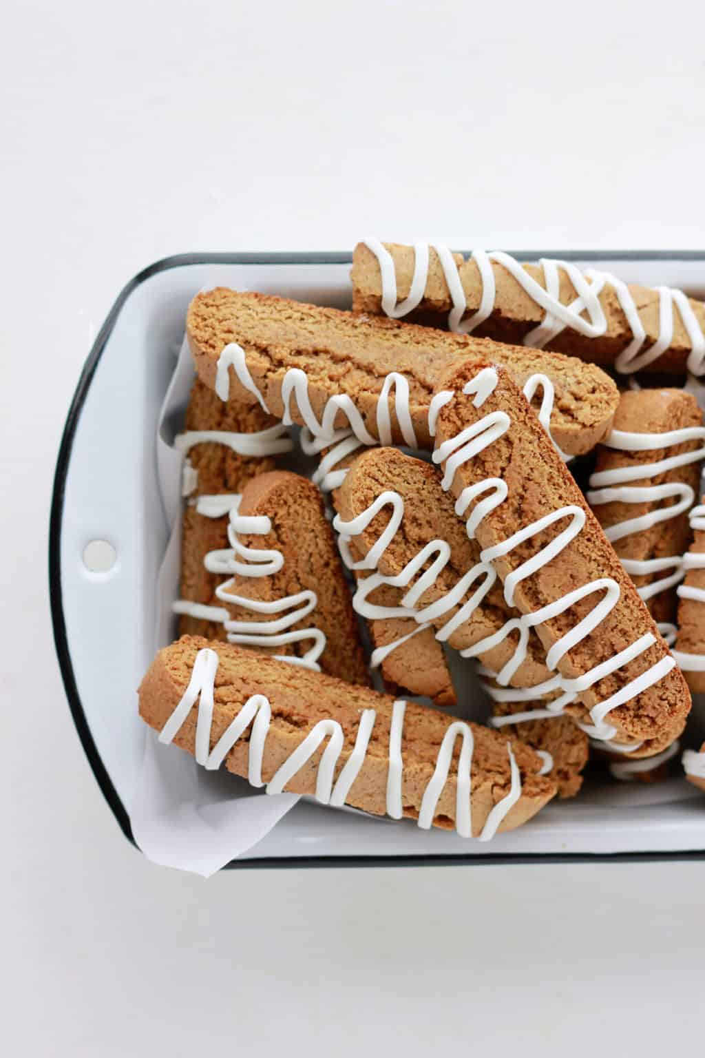 Gingerbread Biscotti on One Sweet Appetite