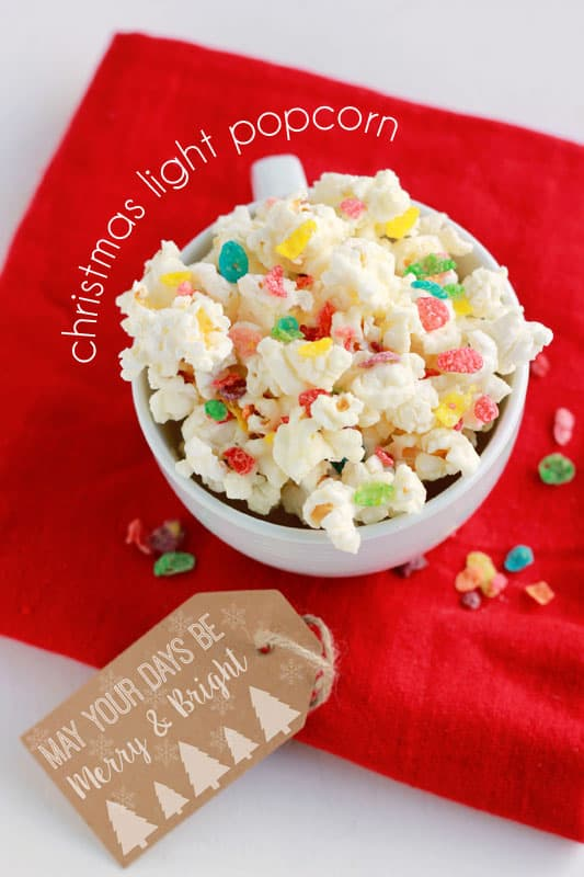 christmas light popcorn