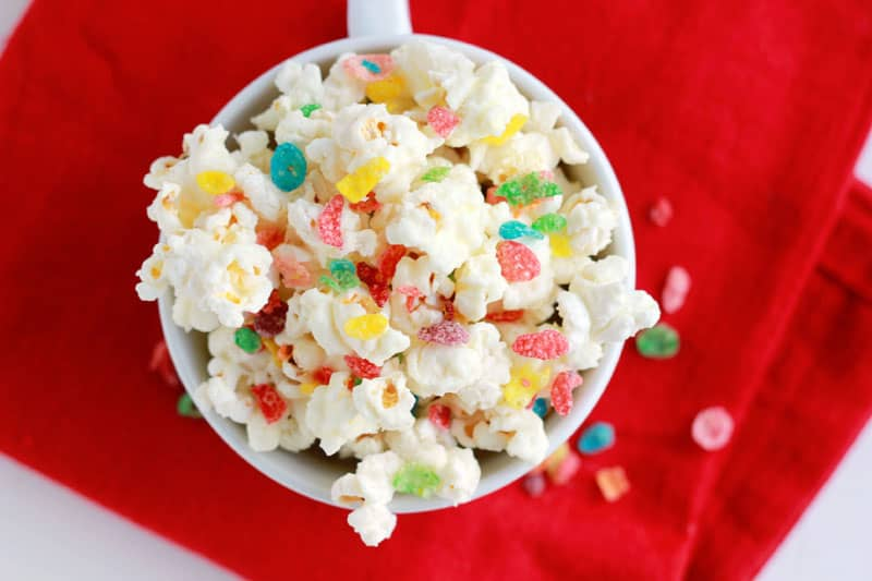 Christmas Light Popcorn Recipe