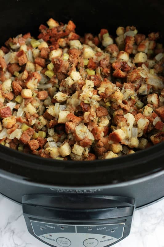 slow-cooker-stuffing-on-One-Sweet-Appetite