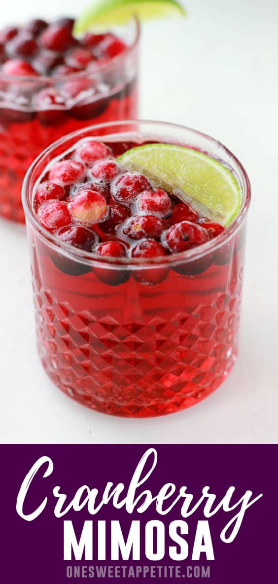 Cranberry Champagne Cocktail.A delicious way to bring in some of that wonderful holiday flavor and still keep things simple! Tis the season to raise your glass and toast to family, friends, and cheer!