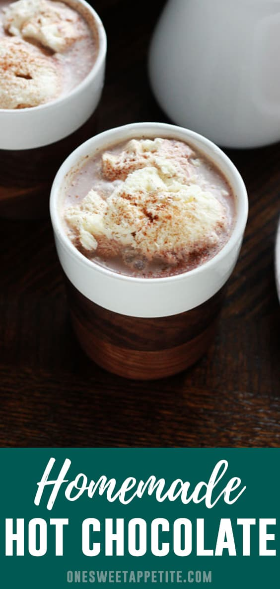 This Perfect Hot Cocoa Recipe is a greatway to share some love this winter! With just a few basic ingredients you can have a sweet cup of perfect hot chocolate ready in minutes!