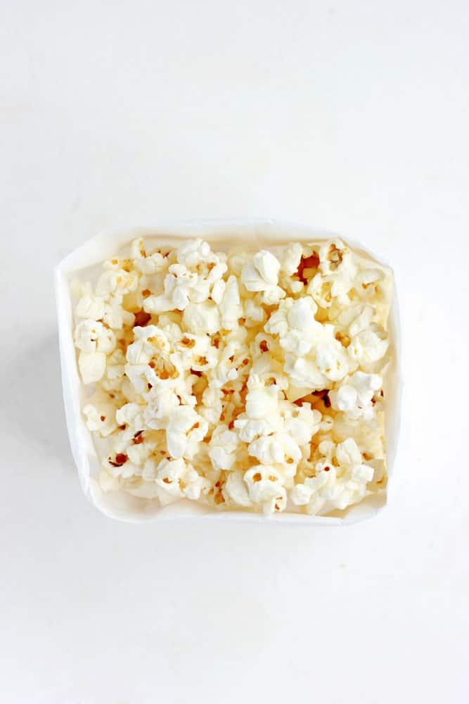Easy Paper Bag Popcorn Recipe