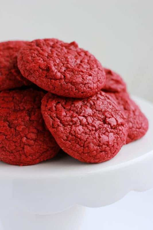 Red Velvet Cake Mix Cookie Recipe
