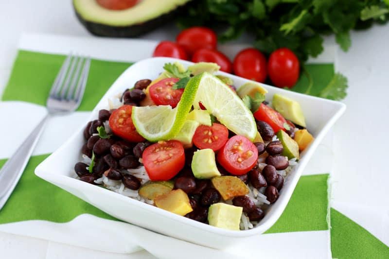 veggie-burrito-bowl