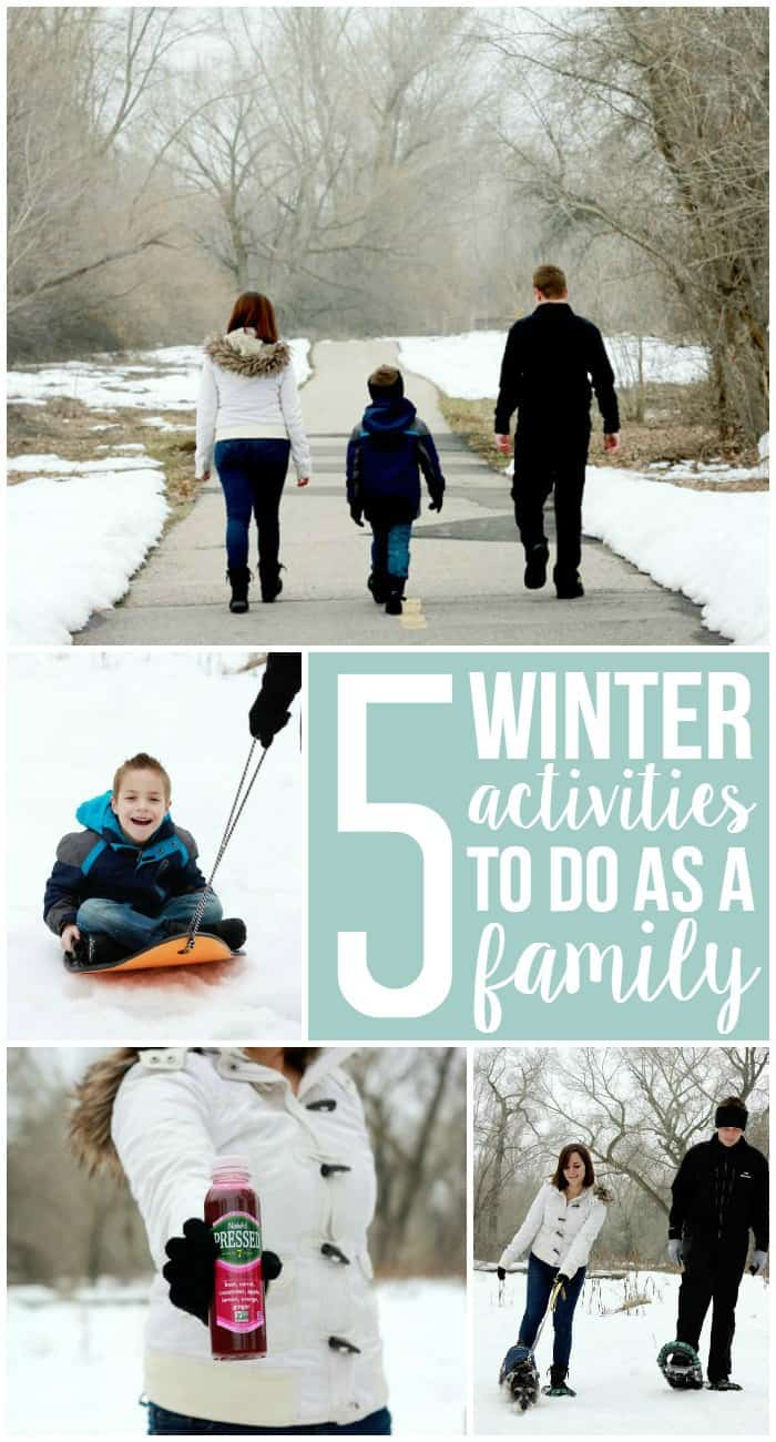 5 winter activities to do as a family