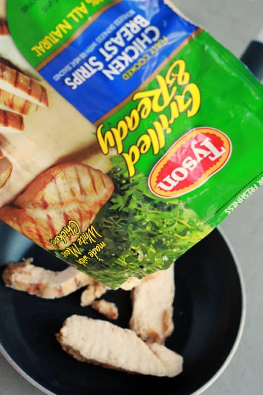 Chicken Caprese Pasta Salad with Grilled Chicken