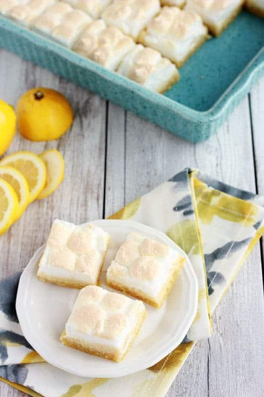 Lemon Pie Bar Recipe