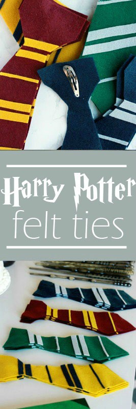 Harry Potter Felt Tie Tutorial