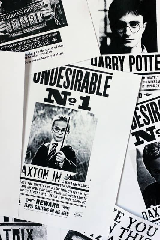 Harry Potter Custom Poster