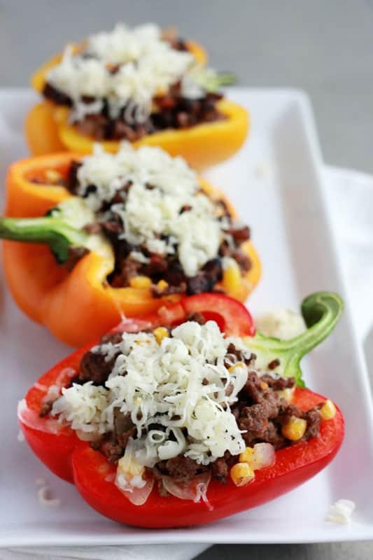 Taco Stuffed Pepper Recipe