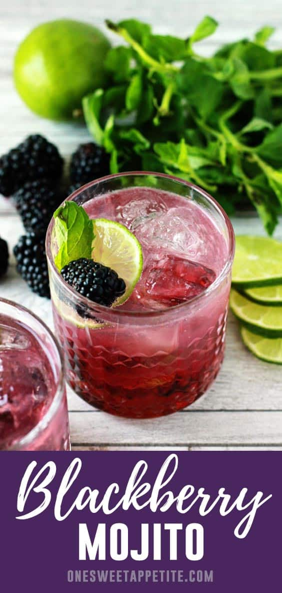 The classic mojito recipe gets a refreshing twist with the addition of blackberries! Give this Blackberry Mojito recipe a try this summer for a fun twist on the classic!