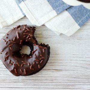 Chocolate Cake Donuts