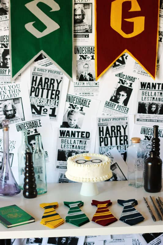Harry Potter Birthday on One Sweet Appetite