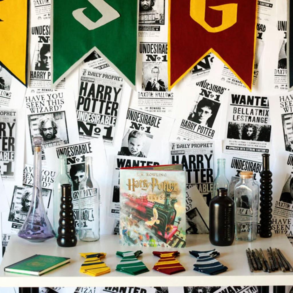 Simple Harry Potter Party Ideas