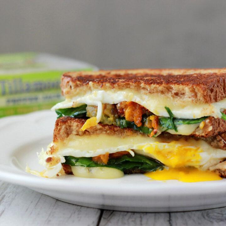 Gourmet Breakfast Sandwich