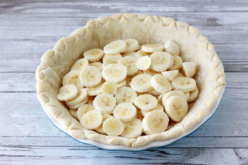 Banana Cream Pie Shell