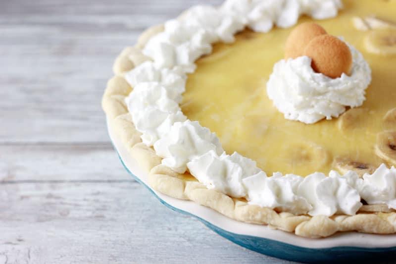 Banana Cream Pie on One Sweet Appetite
