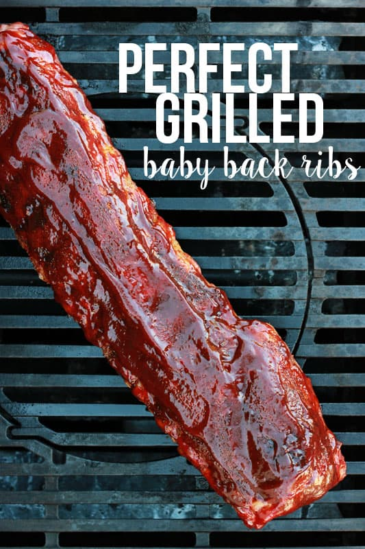 Perfect Grilled Ribs on One Sweet Appetite