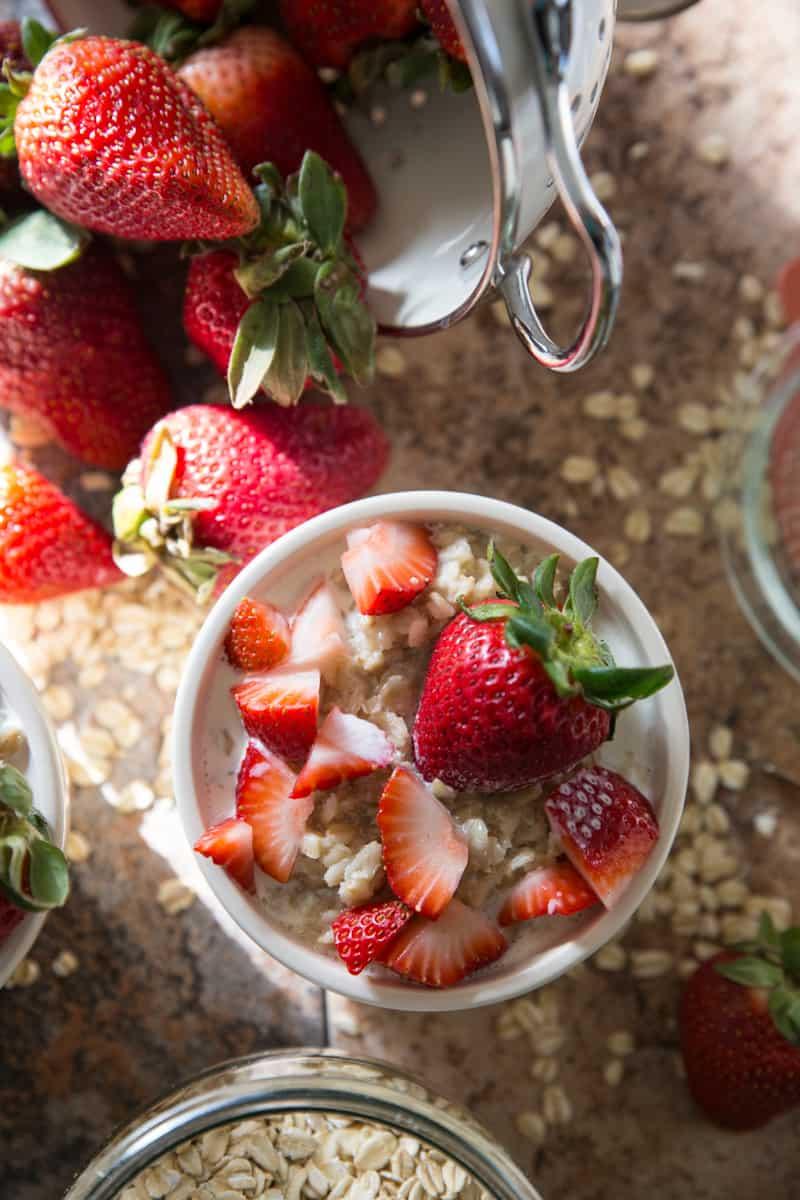 Strawberries & Cream Oatmeal