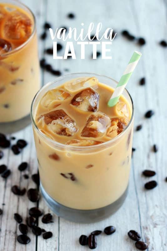 Vanilla Latte on One Sweet Appetite