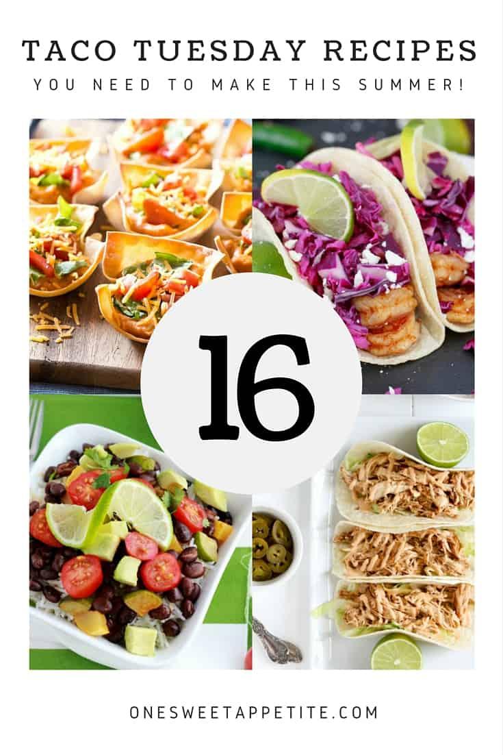 16 Taco Tuesday Recipes