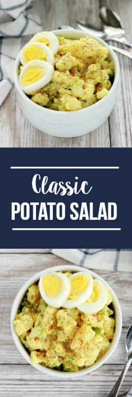 Classic Potato Salad- A summer staple!