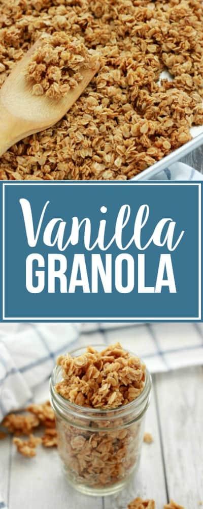 Homemade Vanilla Granola