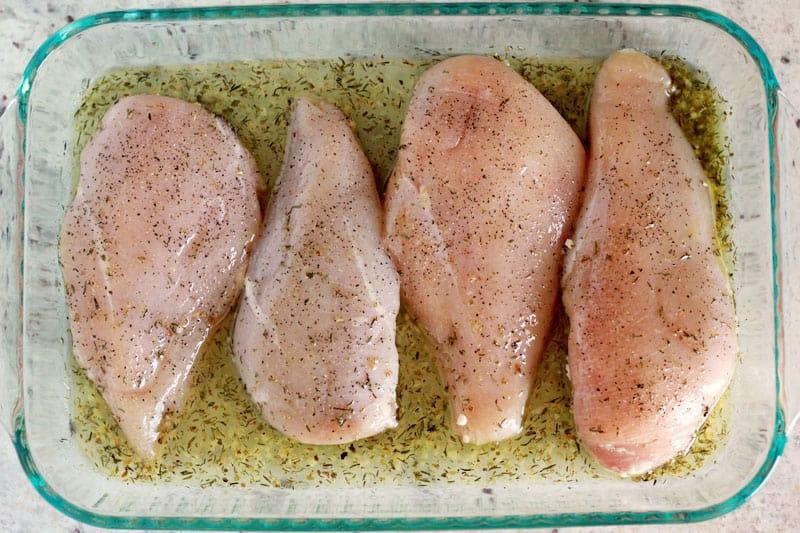 Oven Roasted Chicken Breast Recipe