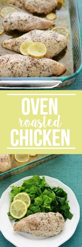 Oven Roasted Chicken Breast with Lemon