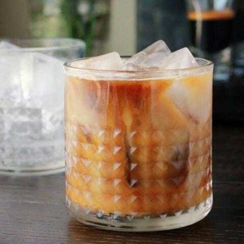 Coconut Horchata Latte