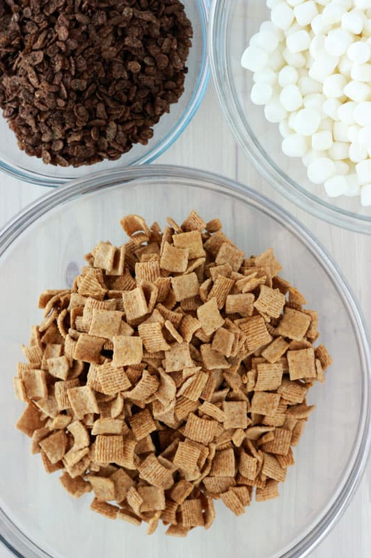 S'more Cereal Treat ingredients