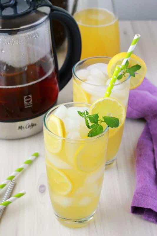 Mango Green Tea Lemonade Recipe