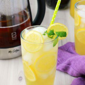 Green Tea Mango Lemonade Recipe