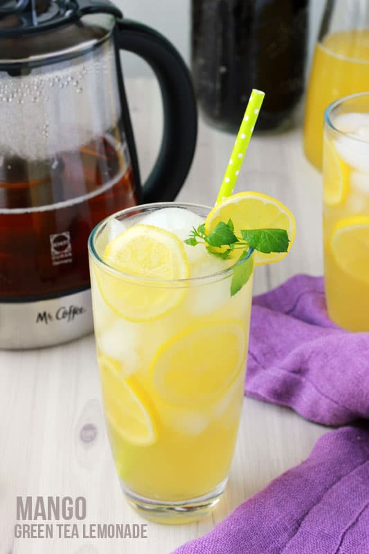 Mango Green Tea Lemonade