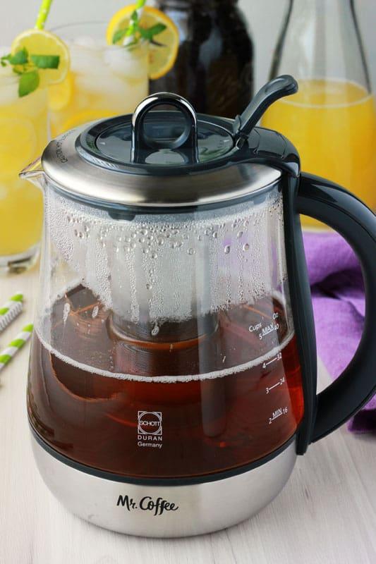Mango Green Tea Lemonade Recipe with Mr Coffee