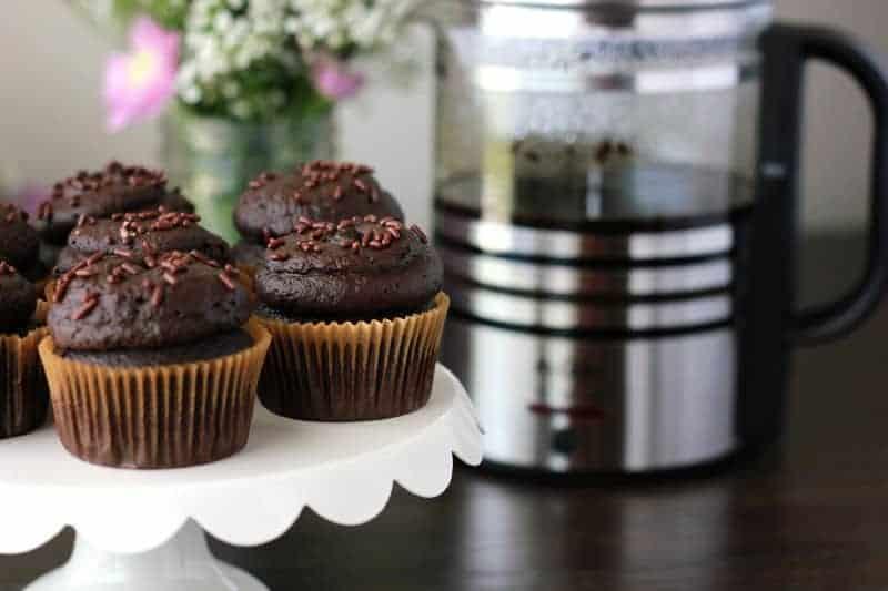 Mocha Cupcakes (8)